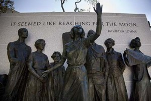 Virginia Civil Rights Memorial at Capitol Square