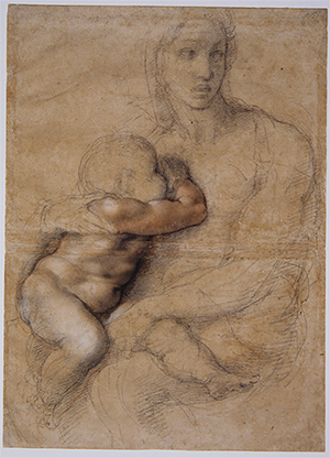 Madonna and Child by Michelangelo, Florence, Casa Buonarroti