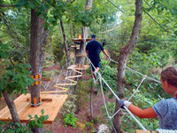 Adventure Park at Sandy River Retreat