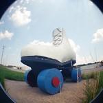 Giant Roller Skate