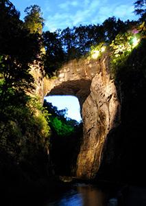 Drama of Creation at The Natural Bridge