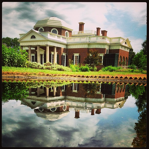 Monticello. By @dreamsrundeep