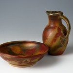 Pitcher and bowl by Nan Rothwell