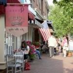 Prince George Street in Williamsburg