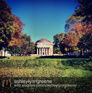 UVA Rotunda by @Ashleylynngreene