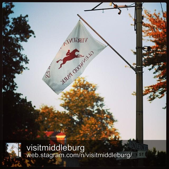 Early fall colors in Middleburg by @visitmiddleburg