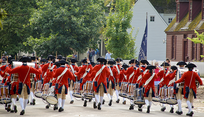 Colonial Williamsburg. Image by Joshua T. Moore