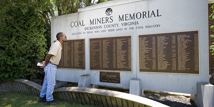 Dickenson County Coal Miners Memorial