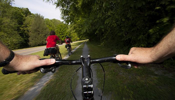 Virginia Creeper Trail. Image by CameronDavidson@CameronDavidson.com.