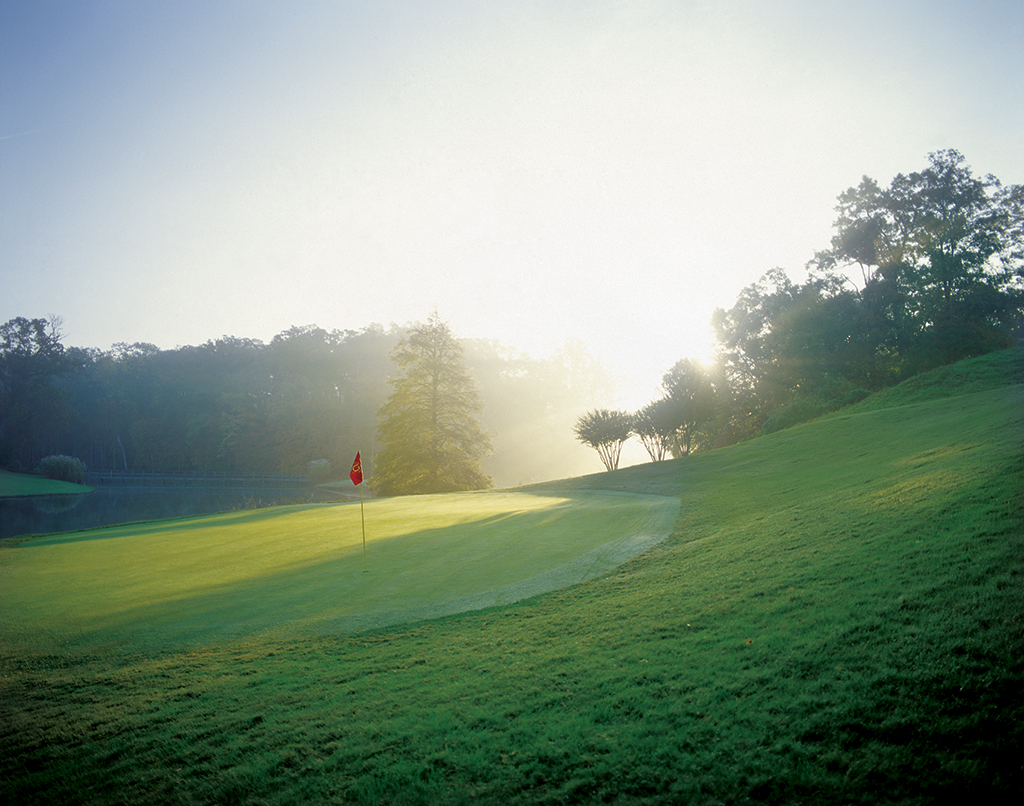 The Golden Horseshoe is one of Virginia's most famous golf clubs. Two courses created by Robert Trent Jones Sr and Rees Jones offer a classic and beautiful challenge.