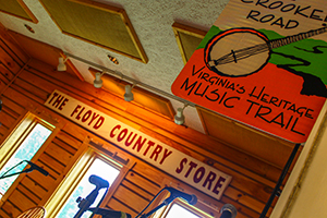 Floyd Country Store on The Crooked Road