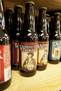 This is what you'll be looking for when seeking AleWerks' Washington Porter for the Sundae Funday Beer Float.