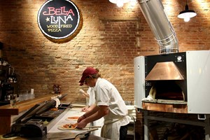 Check Auckerman at Bella Luna Wood-Fired Pizza
