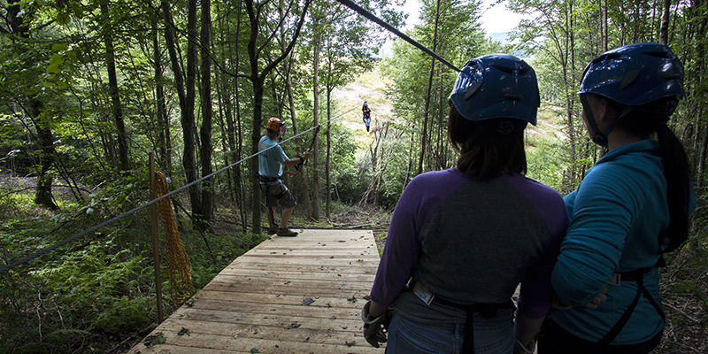 Creeper Trail Zipline