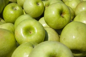 Succulent Granny Smith Apples