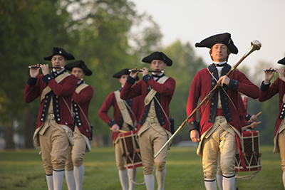 Fife and Drums Corp at Colonial Williamsburg. CameronDavidson@CameronDavidson.com.