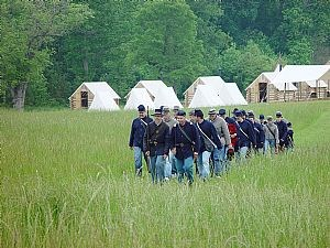 Civil War Adventure Camp at Pamplin Historical Park.