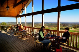 Bluemont Vineyards, part of Loudoun: DC's Wine Country.