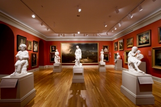 Brock Gallery, pre-expansion, Chrysler Museum of Art