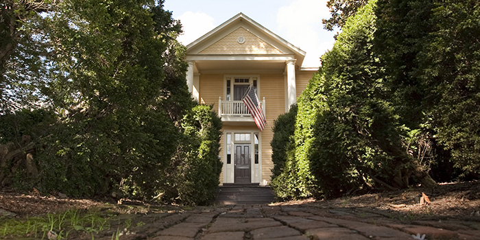 President James Monroe's Ash Lawn-Highland. A historic house museum open to the public for visitation.