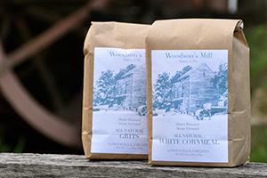Woodson's Mill white cornmeal