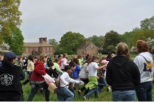 Easter Egg Hunt at Stratford Hall