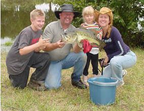 Fishing at CornerStone Farm