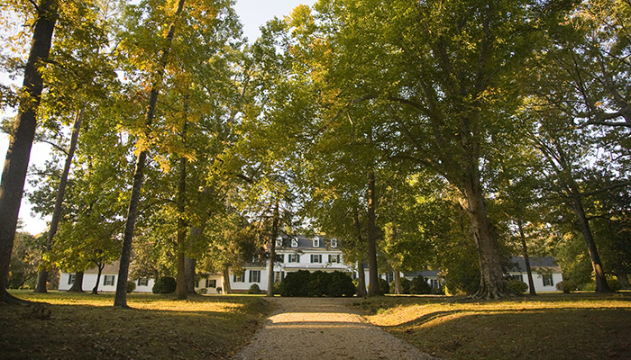 Sherwood Forest Plantation, ca 1680. Home to our 10th president, John Tyler.