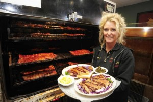 Lee Ann Whippen of Wood Chicks BBQ in Chesapeake
