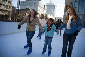 Downtown Richmond Ice Skating