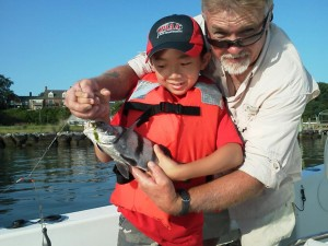 Fishing with York River Charters