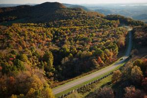 Rocky Knob Recreation Area on the Blue Ridge Parkway. Photo by CameronDavidson@CameronDavidson.com.