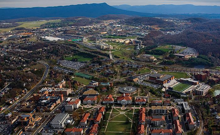 James Madison University. Photo by Greg Comer.