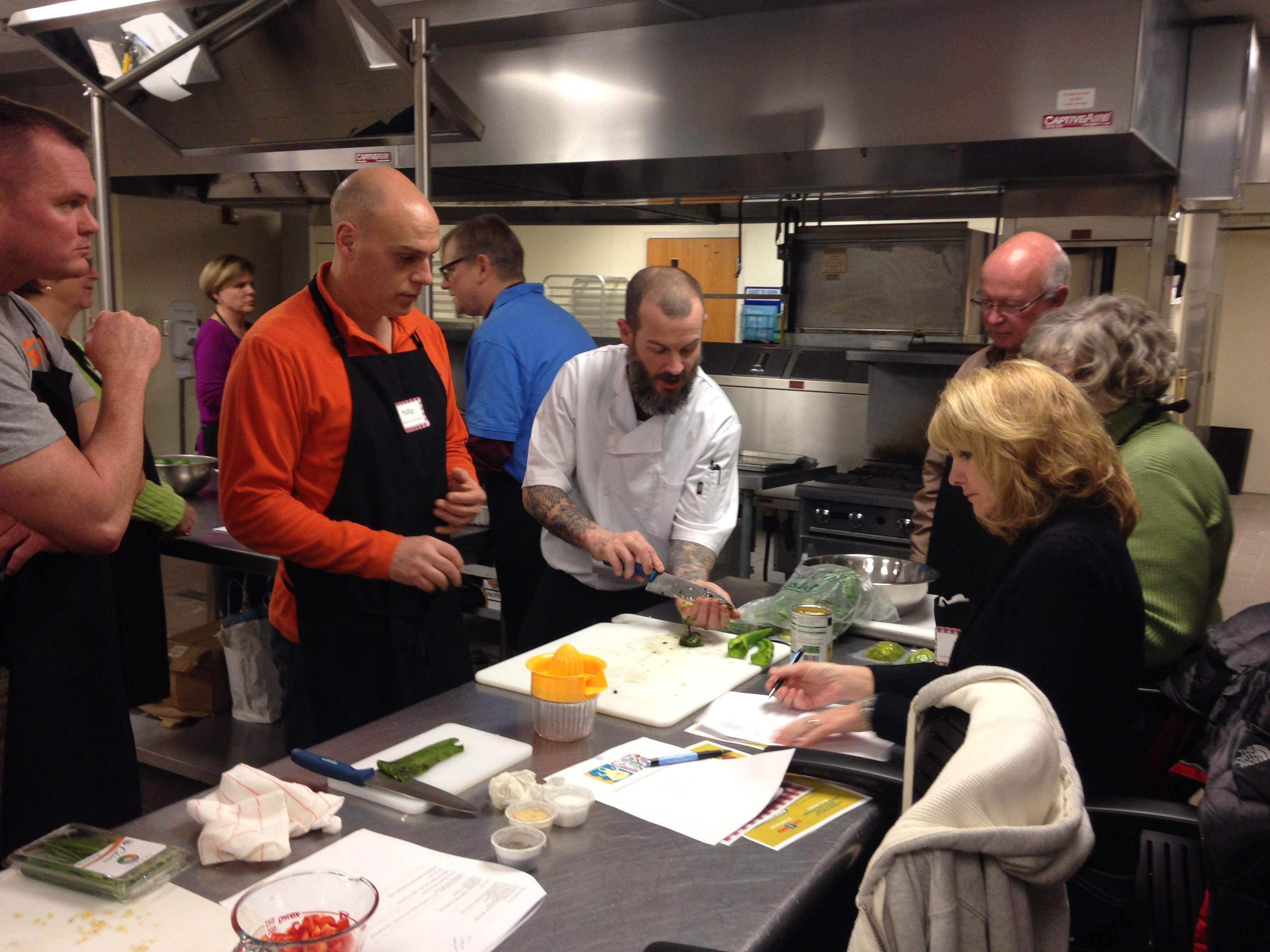 Southwest Virginia Higher Education Center Cooking Classes