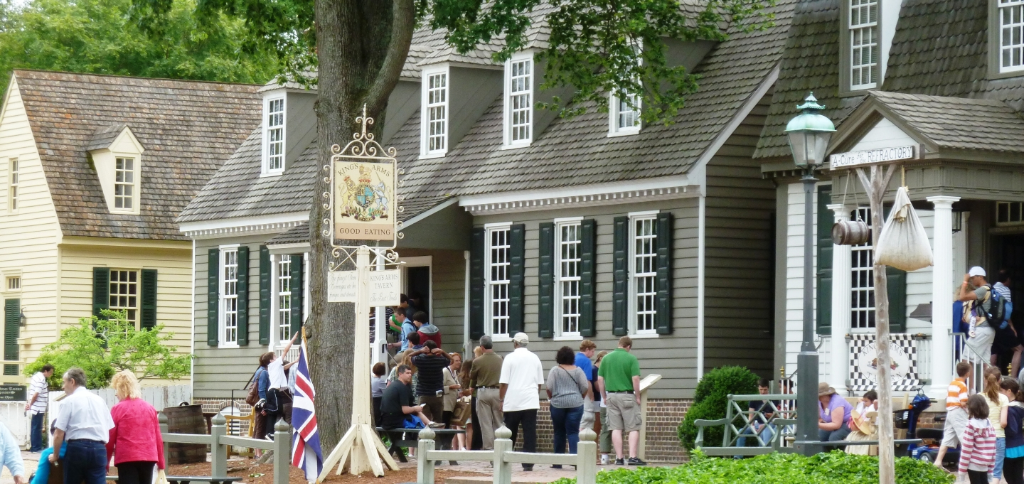 King's Arm Tavern at Colonial Williamsburg