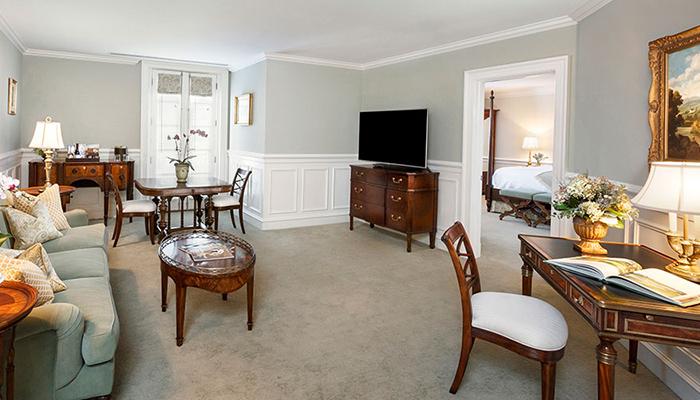 Keswick Hall Master Suite