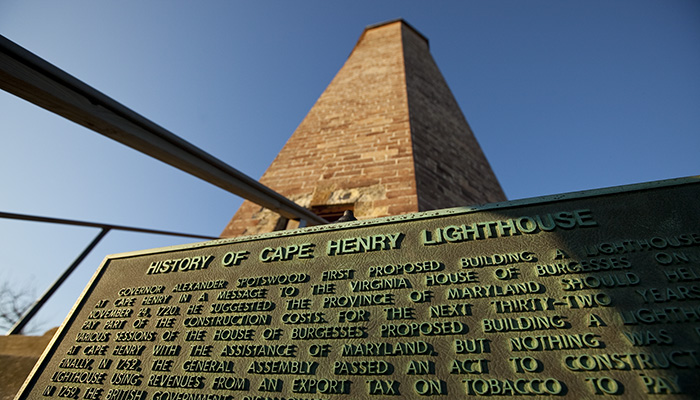 Old Cape Henry Lighthouse, c.1792