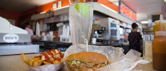 Doumar's Cones and Barbeque