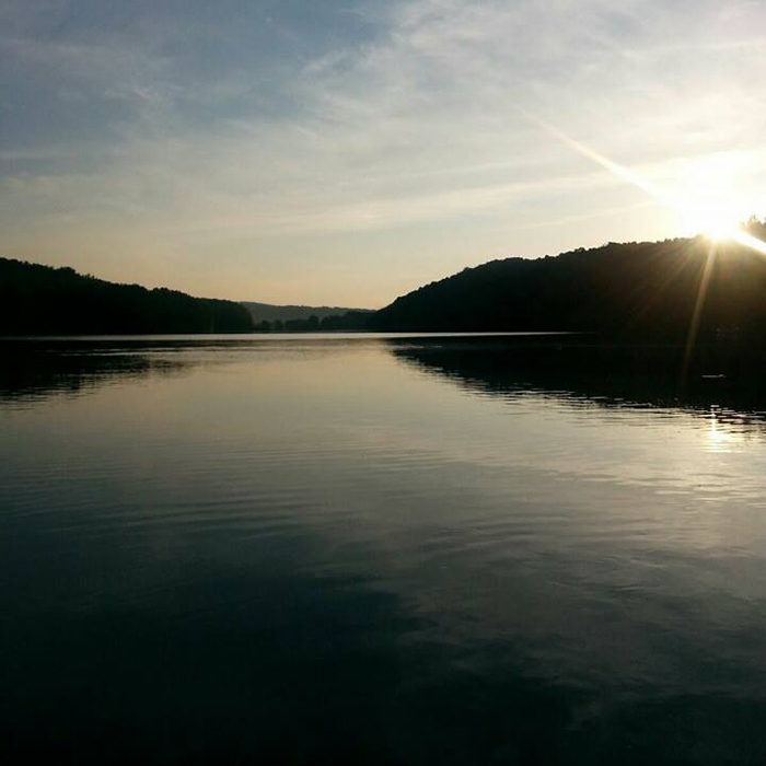 Rural Retreat Lake. Courtesy Wythe County.
