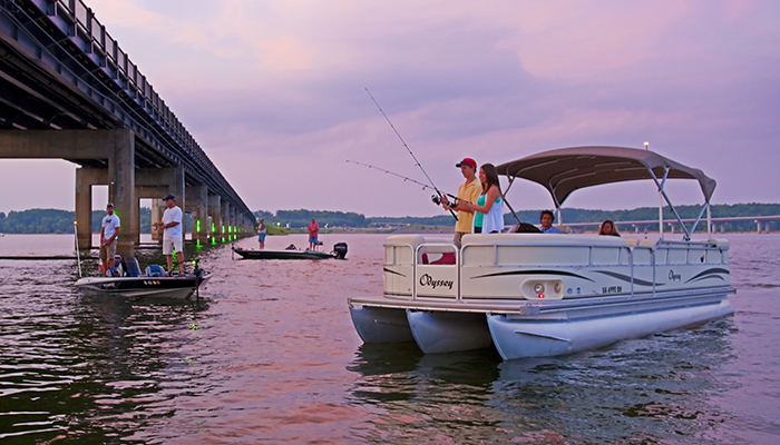Fishing in Buggs Island Lake