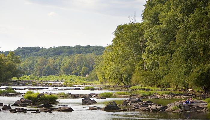 Rappahannock River near Fredericksburg