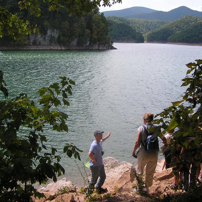Lake Moomaw. Casey Higgins photo.
