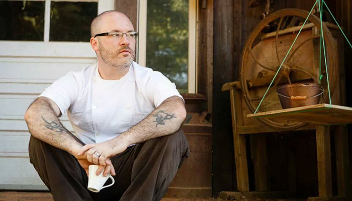 Chef Tarver King. Joshua Timmes Photo.l
