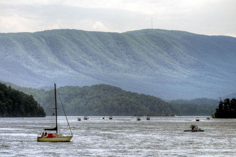 South Holston Lake Near Bristol. Image by Jason Barnette.