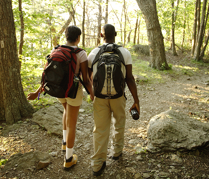 Hiking in Shenandoah National Park. Image by CameronDavidson@CameronDavidson.com.