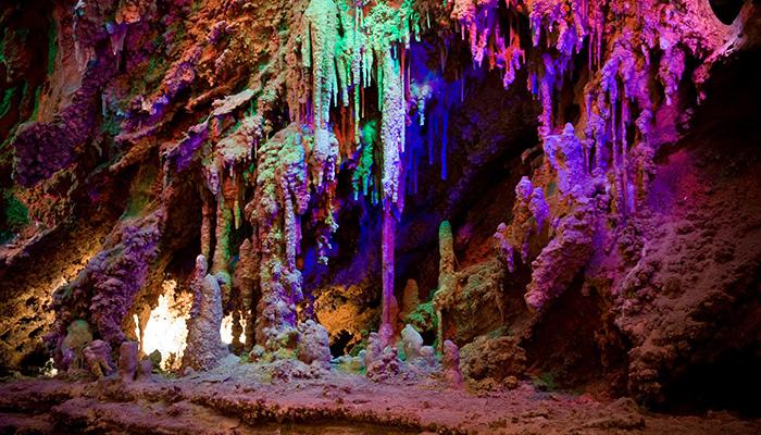 Shenandoah Caverns, Tea Garden