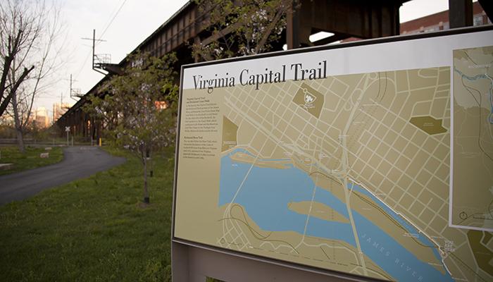 Virginia Capital Bike Trail: Shiplock Park