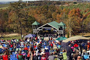 Music and wine festivals are held throughout the year at Chateau Morrisette Winery.  Virginia Tourism Corporation, www.Virginia.org