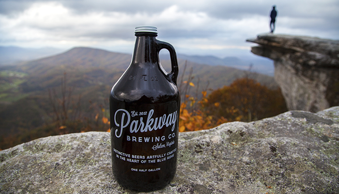 Fall Beer on McAfee Knob