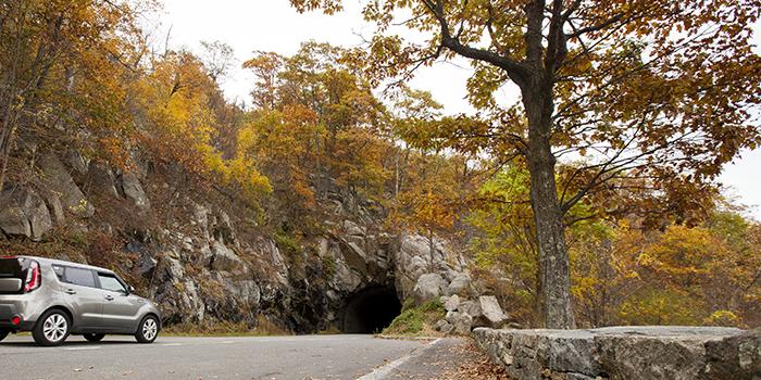 Tunnel Parking Overlook